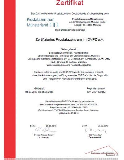Dachverband der Prostatazentren Deutschlands e.V. (DVPZ)